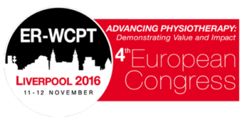 Abstract accepted for European Physiotherapy Conference